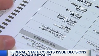 Dueling rulings confuse recount - Video