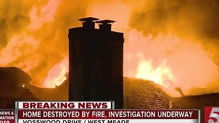1 Killed, 3 Homes Destroyed In Overnight Fires - Video
