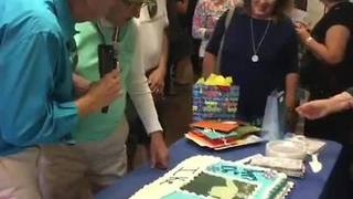Lakeland PD joins 106th birthday celebration - Video
