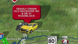 Fatal crash on State Road 31 in North Fort Myers - Video