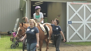 Horseback Riding That Builds Leadership And Confidence In Individuals With Special Needs - Video