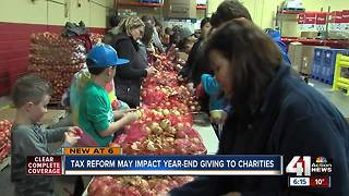 Tax reform may impact year-end giving - Video