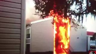 VIDEO: Two-alarm fire at Tampa apartment complex - Video