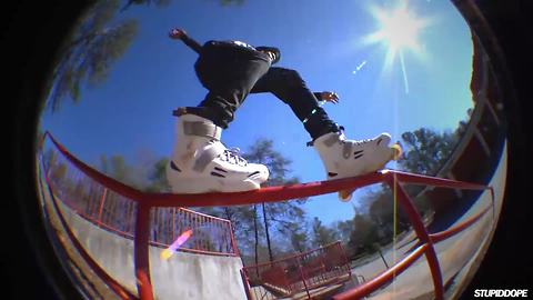 Unreal rollerblading skills will blow your mind
