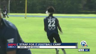 Strap For It Football Camp