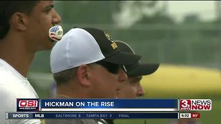 Chris Hickman on the rise - Video