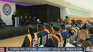 Florida Polytechnic University graduates its first class - Video