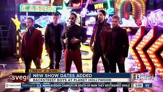 New show dates added for Backstreet Boys - Video