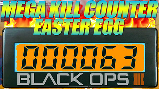 Gaming tips: Mega kill counter Easter egg found in Black Ops 3 - Video