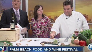 Palm Beach Food and Wine Festival is coming - Video