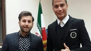 Interview with Iranian Messi and Ronaldo - Video