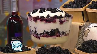 White Family Farm's Blackberry Triffle - Video