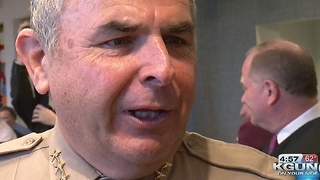 New Pima County Sheriff takes oath of office