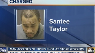 Man accused of firing shot inside store at Mondawmin Mall - Video