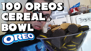 100 Oreo Century Challenge Vs FreakEating - Video