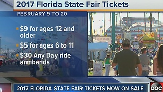 2017 Florida State Fair Tickets Now On Sale - Video