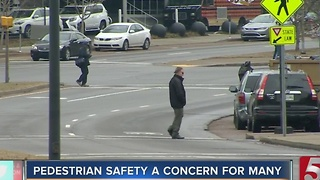 Pedestrian Safety Becomes Growing Concern - Video