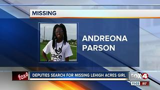 Deputies Search for Missing Girl - Video