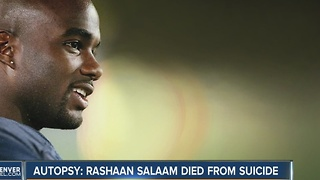 Former CU star and Heisman trophy winner Rashaan Salaam committed suicide, coroner says - Video