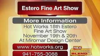 Calling All Art Lovers! Estero Fine Art Show is Back 11/18/16 - Video