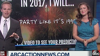 New Year's prediction video