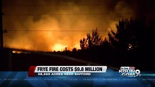 Saddle Fire and Frye Fire updates - Video