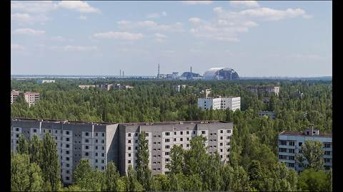 Climbing Chernobyl's tallest point results in breathtaking view