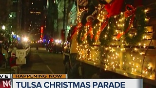 Tulsa Christmas Parade 2016 - Video
