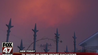 Smoke you smell outside could possibly be from wildfires in Tennessee - Video