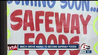 Beech Grove Marsh to re-open as Safeway - Video