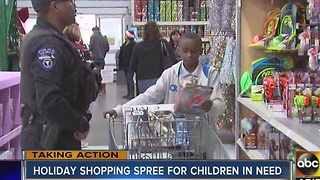 Scottsdale PD holding holiday shopping spree for children in need - Video
