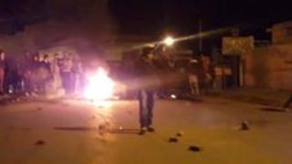 Protest in Kasserine Descends Into Violence - Video