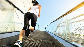 Vertical Running Race - Video