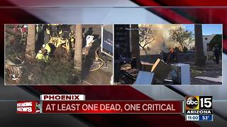 Deadly house explosion in Phoenix - Video