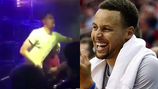 Steph Curry Loses His Sh*t Watching Klay Thompson Dance in China - Video