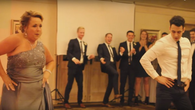 Watch This Epic Mother Son Wedding Dance Simplemost