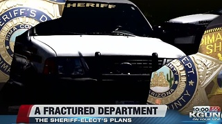 Pima County Sheriff-elect's plans to fix fractured department - Video