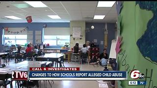 Six sChanges coming to how schools report suspected child abuse in Indianaemi trucks hit by rocks on south side - Video