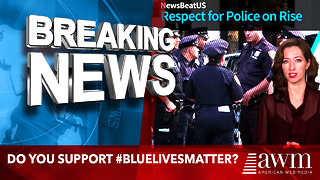 Approval Of Police Officers Hits All Time High In America. Do You Support #BlueLivesMatter? - Video