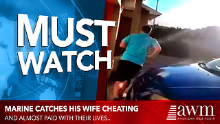 He Knew His Wife Was Cheating On Him. So He Decides To Catch Her And Find Who She's Cheating With - Video