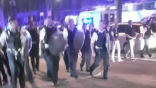 Police Clash With Youths in London's Stamford Hill - Video