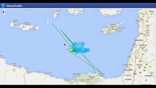 Animation Shows Ships Searching For Crashed EgyptAir Plane - Video