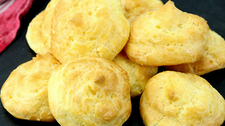 How to make homemade fluffy cheesy puffs