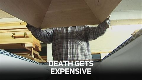 Coffin making: Death is a dying business