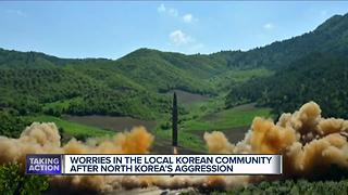 Worries in local Korean community after North Korea's aggression - Video