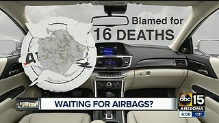 Trying to fix your car after the Takata airbag recall? - Video
