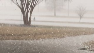 Hail Pelts Tennessee, Leaves People Without Power - Video