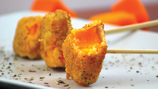 Fried pumpkin: the perfect autumn-style aperitif! - Video