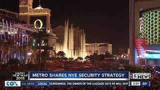 Police talk about New Year Eve security - Video