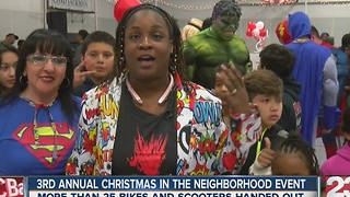 3rd annual Christmas in the Neighborhood event - Video